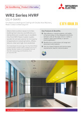 WR2 Series HVRF (22.4-56kW) Product Information Sheet cover image