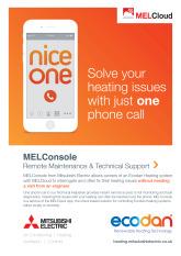 Ecodan MELConsole Leaflet cover image