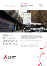 Guy's and St Thomas NHS Trust, City Multi VRF & Split Systems, London cover image