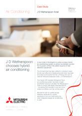 J D Wetherspoon Hotel, Hybrid VRF, Cambridgeshire cover image