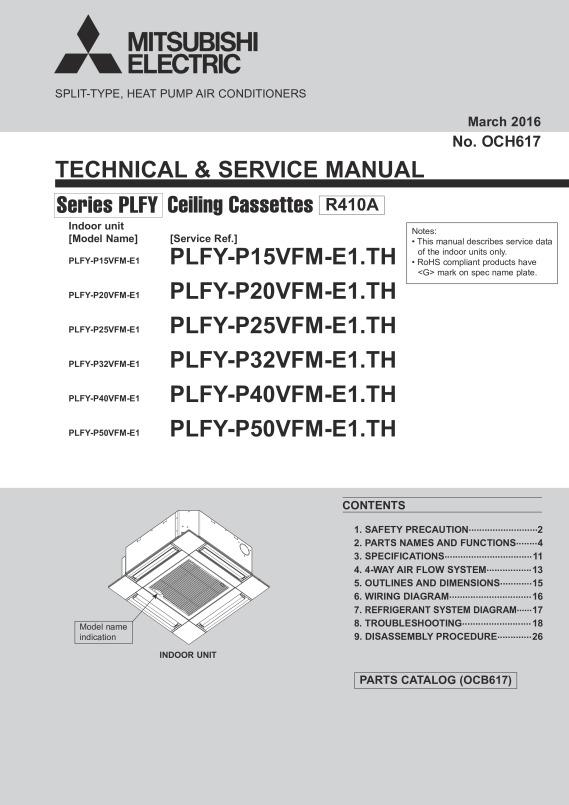 plfy p15 50vfm e1 service manual och617 mitsubishi electric rh library mitsubishielectric co uk