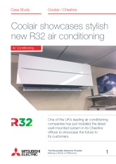 Coolair Equipment Ltd, R32 M Series Split System, Cheshire cover image