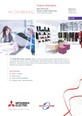 PSA-RP71-140KA R410A Power Inverter Product Information Sheet cover image