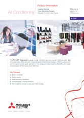 PSA-RP100-140KA R410A Standard Inverter Product Information Sheet cover image