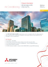 PEFY-WP20-80VMA-E (HVRF) Product Information Sheet cover image