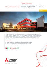 R32 HVRF R2 Series Standard Efficiency (22.4-56kW) Product Information Sheet cover image