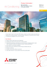 BCControllers With Port Isolation Valves & Acoustic Jacket Product Information Sheet cover image
