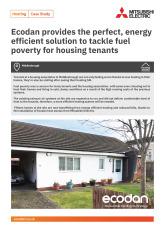 Ecodan QUHZ Housing Association, Middlesbrough cover image