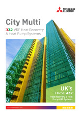City Multi R32 VRF Brochure cover image