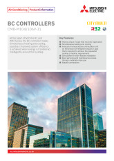 BC Controllers R32 / R410A Product Information Sheet cover image