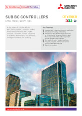Sub BC Controllers R32 / R410A Product Information Sheet cover image