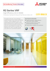 R2 Series VRF High Efficiency - YNW (22.4-45kW) Product Information Sheet cover image
