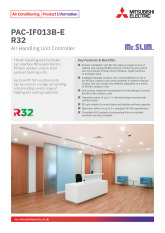 PAC-IAF013BE-R32 AHU Product Information Sheet cover image