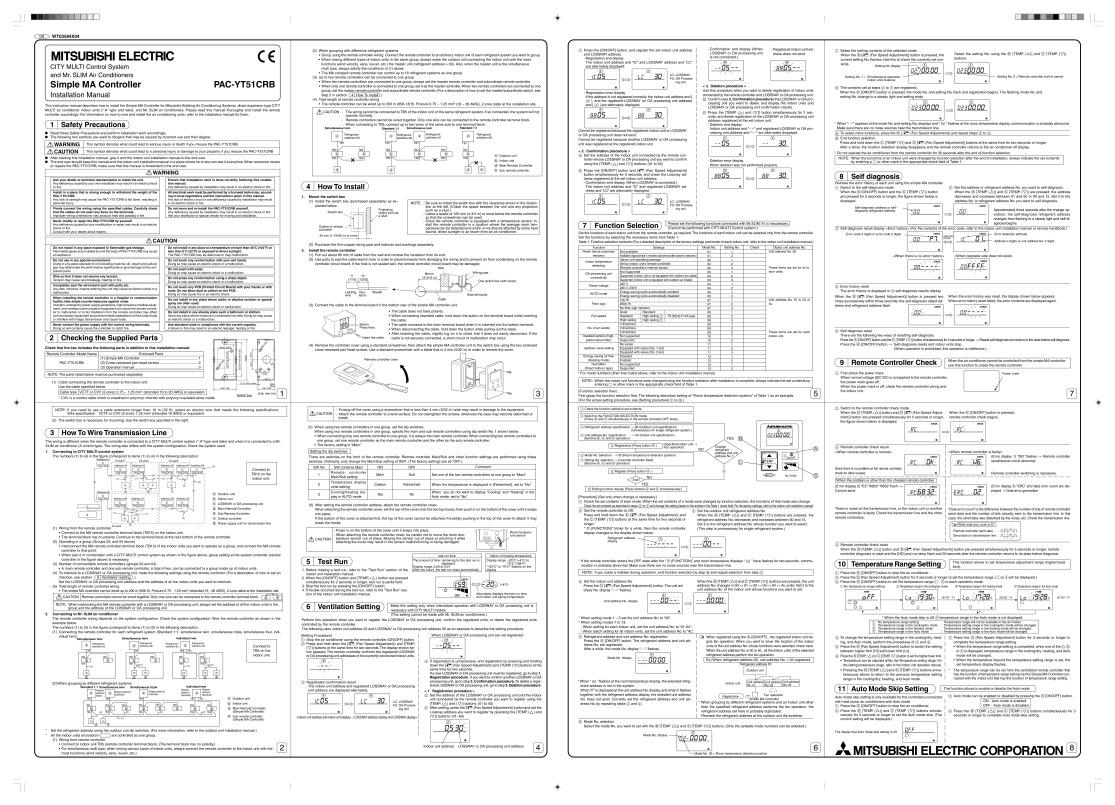 mitsubishi mr j manual