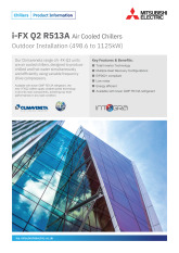 i-FX Q2 R513A  Air Cooled Chillers Product Information Sheet cover image
