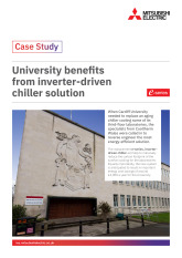 Cardiff University, e-series Chiller, Cardiff cover image