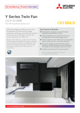 Y Series Mini VRF Twin Fan 12.5-33.5kW Product Information Sheet cover image