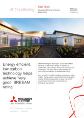 Chapelford Primary School, Mr Slim Split Systems, Cheshire cover image