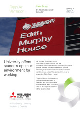 De Montfort University, Leicestershire cover image