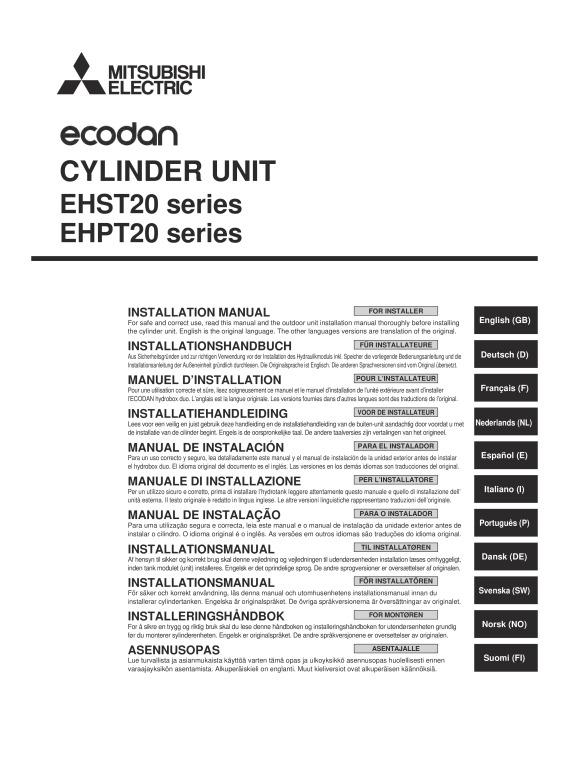 ecodan ehpt20x vm2hb installation manual mitsubishi electric rh library mitsubishielectric co uk mitsubishi ecodan user manual mitsubishi ecodan installation manual