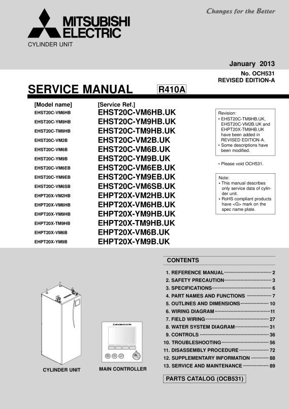 ecodan ehpt20x vm2hb service manual mitsubishi electric rh library mitsubishielectric co uk mitsubishi electric ecodan manual mitsubishi ecodan user manual