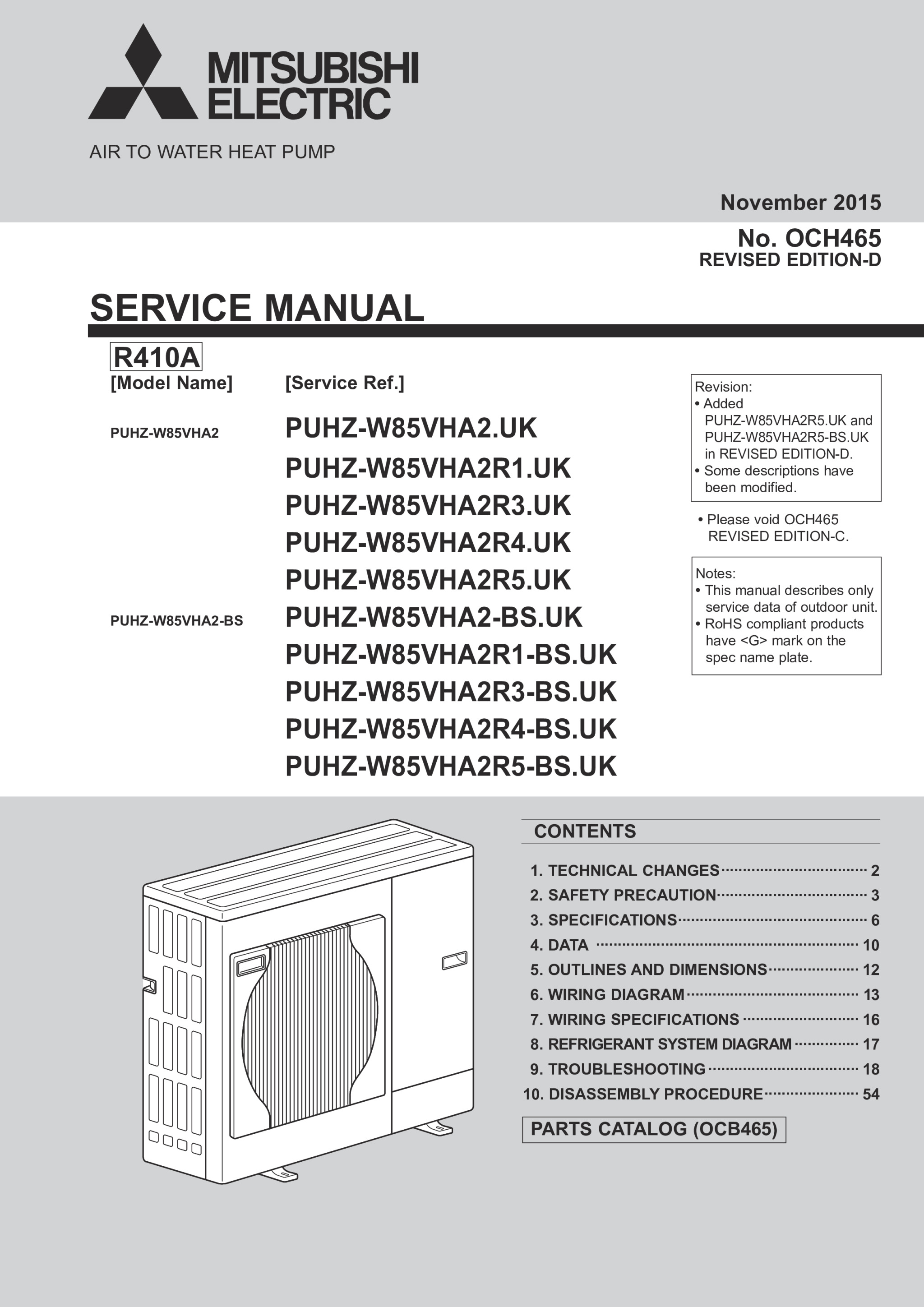 ecodan puhz w85vha2 bs service manual och465d mitsubishi electric rh library mitsubishielectric co uk Mitsubishi Eclipse Spyder Mitsubishi Montero Engine Manual