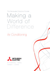 Air Conditioning Brochure cover image